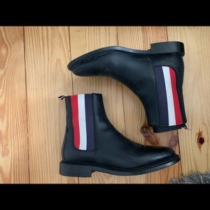 Authentic Thom Browne Womens Chelsea Boots 7.5
